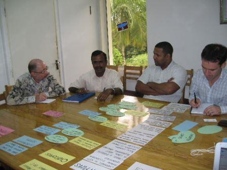 ToC planning in Seychelles